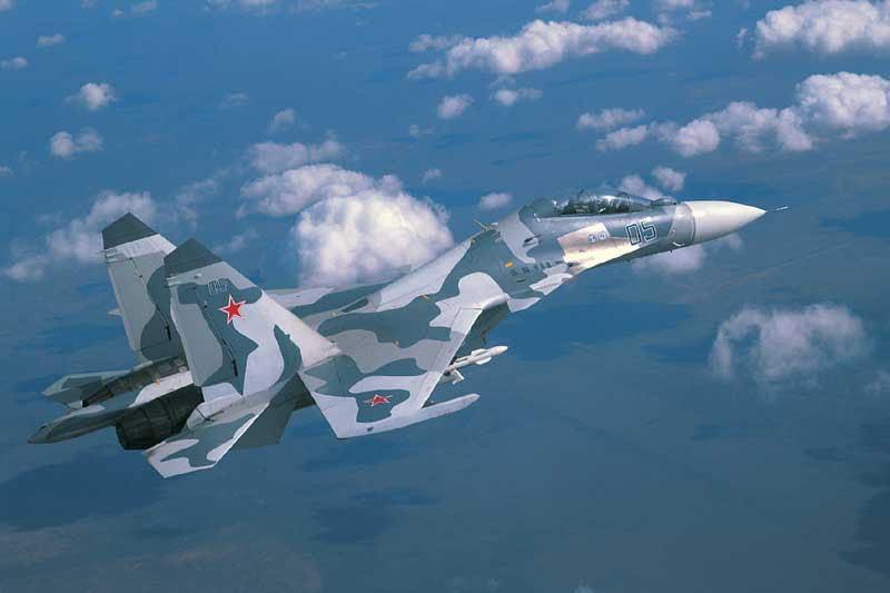 Su-30SM multirole fighter